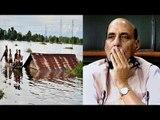 Assam Floods : 21 killed, Rajnath Singh conducts aerial survey| Oneindia News