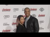 """T.I. and Tameka TINY Cottle """"Avengers: Age of Ultron"""" World Premiere Red Carpet"""