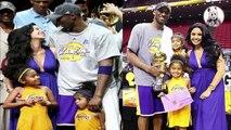 Kobe Bryant's Wife - Vanessa Laine Bryant - Kobe Bryant's kids Natalia , Bianka and Gianna  2017