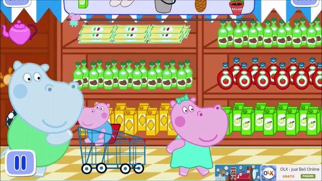 Peppa pig Hippo Go Supermarket Shoping