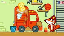 Camion de pompier, Renard dessin animé, Pompier dessin anime francais