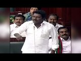 AIADMK MLA Karunas criticize DMK member for English speech in assembly| Oneindia News