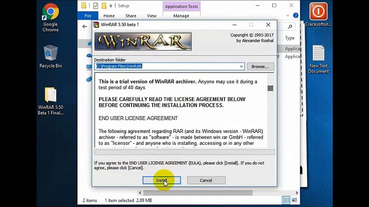 WinRAR 5 50 License Key