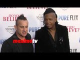 "Newsboys (Duncan Phillips & Michael Tait) ""Do You Believe?"" Los Angeles Premiere Red Carpet"