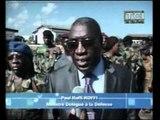 Remise de nouveaux treillis aux gendarmes et militaires en présence de Koffi Koffi Paul