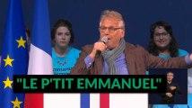 """Daniel Cohn-Bendit soutient """"le petit Emmanuel"""""""