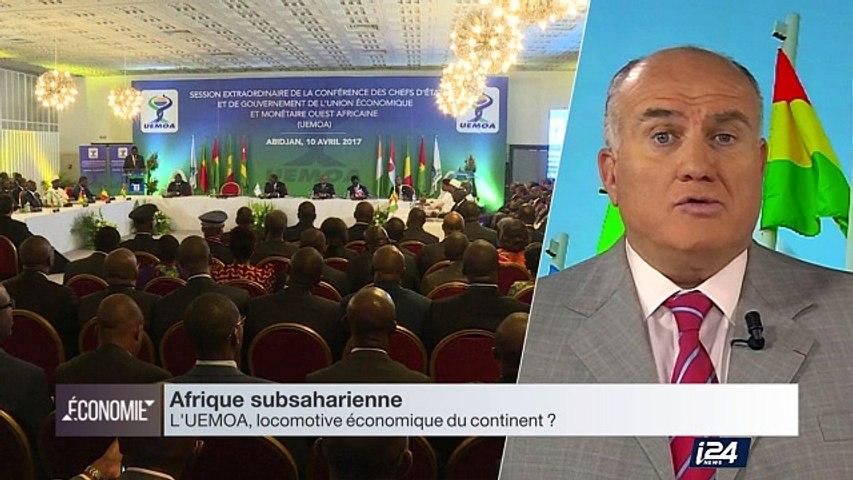 Perspective Afrique : l'UEMOA (Union Économique et Monétaire d'Afrique de l'Ouest), une zone de 8 pays en forte croissance, malgré le risque sécuritaire.