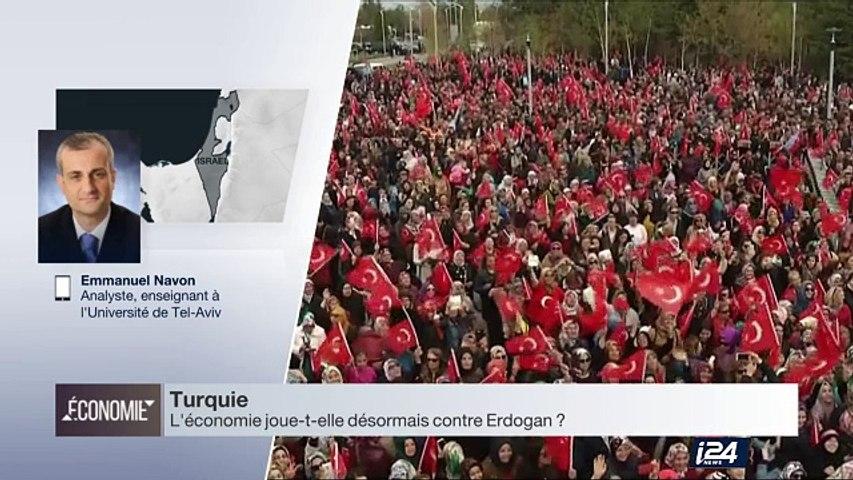 Turquie : Erdogan obtient les pleins pouvoirs par referendum, malgré une croissance économique en recul