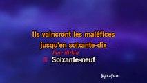 Serge Gainsbourg & Jane Birkin - 69 année érotique KARAOKE / INSTRUMENTAL