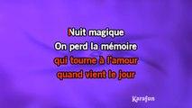 Lara Fabian - Nuit magique KARAOKE / INSTRUMENTAL
