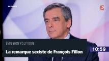 La remarque sexiste de François Fillon à Léa Salamé