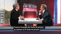 Jean-Luc Mélenchon passe son entretien d'embauche chez Jean-Jacques Bourdin