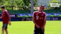 FC Bayern Munich - FUNNIEST Football Training EVER! LUSTIG