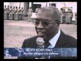 1ère Visite du ministre délégué a la Défense Koffi Koffi Paul à l'Etat Major des armées