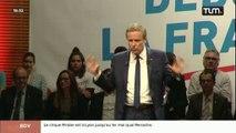 Présidentielles 2017 : Nicolas Dupont-Aignan à Lyon