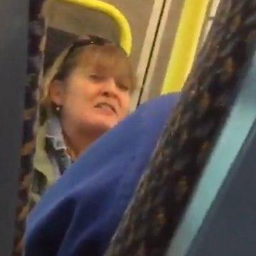 Woman spews racial slurs at train passengers [Mic Archives]