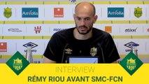 Rémy Riou avant Caen - FC Nantes