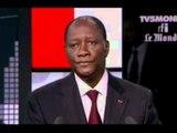 """Le Président Ouattara invité de l'émission """"Internationales"""" sur TV5 Monde (3eme Partie) et fin"""