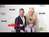 Brian Littrell & Leighanne Wallace   Backstreet Boys Show 'Em What You're Made Of Premiere