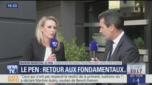 Marion Maréchal-Le Pen l'invitée de BFM TV hier soir avant le meeting de Marine Le Pen (20/04/2017)