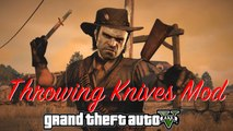 GTA V - Throwing Knives Mod
