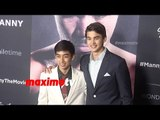 Michael Martinez & Kobe Paras | MANNY Los Angeles Premiere Screening | Red Carpet