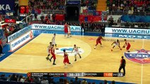 CSKA Moscow - Baskonia 84-82 Euroleague Highlights