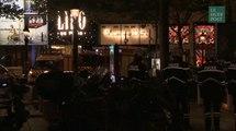 Les images après l'attaque sur les Champs-Elysées contre des policiers