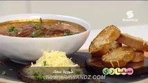 سفاري : شوربة سمك | أرز جربي | خبز الشعير | سلطة الكبد - سميرة Tv