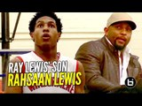 Ray Lewis' Son Rahsaan Lewis Has Game! 5'9 PG is a 2-Way Player!