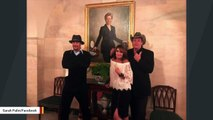 Olbermann Mocks Palin, Nugent, And Kid Rock For Posing With Hillary Clinton Portrait