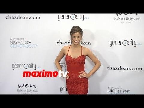 Marielle Jaffe   Night of Generosity Gala 2014   Arrivals