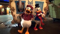 Uncle Scrooge and Donald Duck Meet us at Mickey's Very Merry Christmas Party 2016