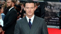 Luke Evans Shows Off His Totally Ripped Arms During Intense Workout