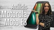 Moto E3, análisis completo y características
