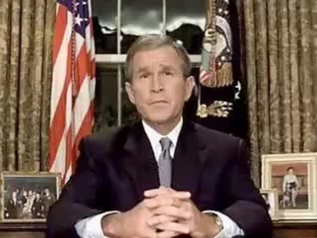 President Bush Addresses the Nation