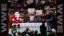 ' drops Santa Claus with a Stunner - Raw, Dec. 22, 1997