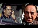 Robert Vadra slams Subramanian Swamy over waiter remark | Oneindia News