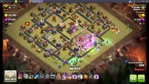 New Strategy 10 Witches 14 Bowlers Destroy War Base Defense 3 Stars, Awesome TH11 & TH10 Replay!!, Clash of clans, th11,