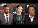 """American Gods"" Premiere Ricky Whittle, Emily Browning, Ian McShane, Pablo Schreiber"