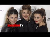 Lori Loughlin with Daughters Isabella & Olivia | Northpole World Premiere