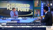 "Plus grand plus fort : Quel bilan pour la campagne ""Plus grand, plus fort"" ? - 21/04"