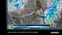 Diana Alvarado, la miss météo ultra sexy venue du Mexique (vidéo)
