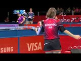 Table Tennis - UKR vs RUS -  Women's Singles - Cl 6 Gold Medal Match - London 2012 Paralympic Games