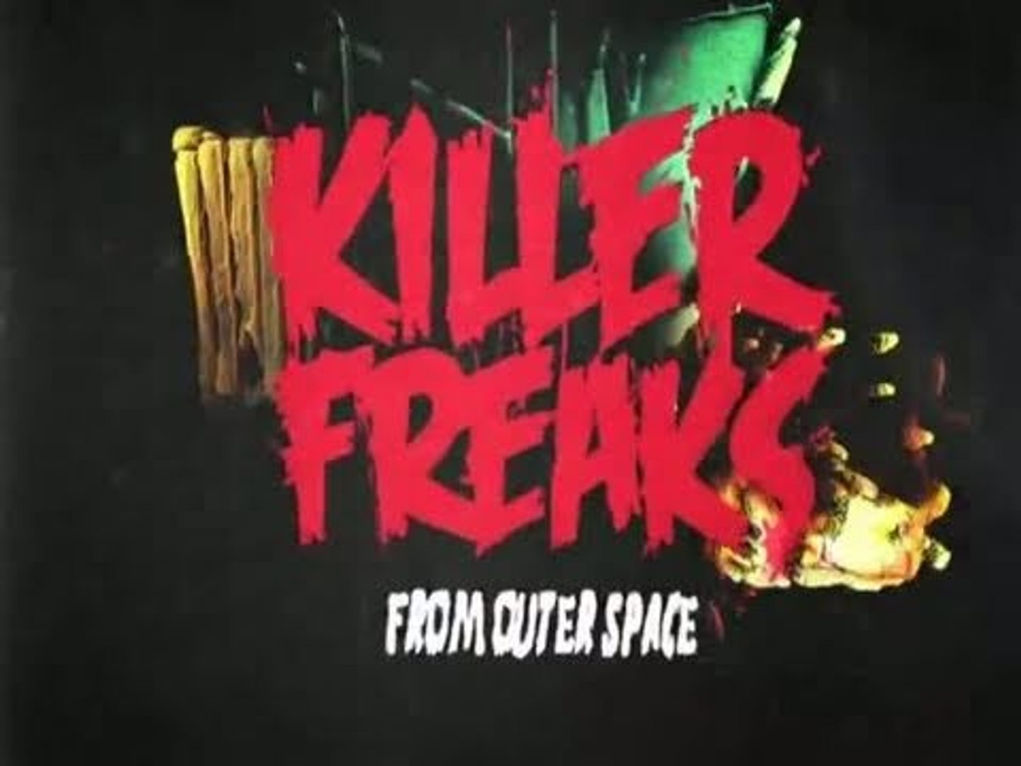 Killer Freaks From Outer Space : Wii U Trailer (E3 2011)