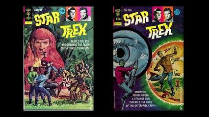 Gold Key Star Trek comics
