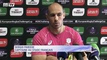 Sergio Parisse : ''L'enjeu est de gagner un titre européen pour la première fois de notre histoire''