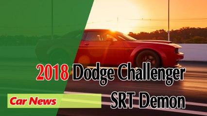 Meet the 840-Horsepower Dodge Challenger SRT Demon - MWC