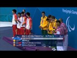 Swimming - Men's 4x100m Freestyle Relay - 34pts Victory Ceremony - London 2012 Paralympic Games