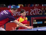 Table Tennis - CHN vs CHN - Women's Singles - Cls 5 Gold Medal Match - London 2012 Paralympic Games
